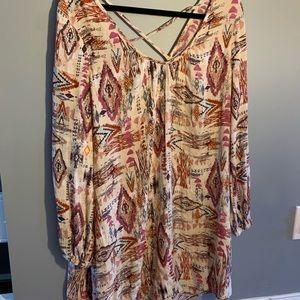 Billabong shirt dress women's small
